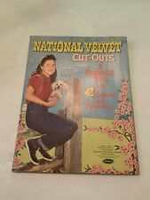 1962 National Velvet Cut Out Paper Dolls by Whitman