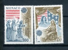 Monaco, 1982r. Mi 1526-1527, Europa,