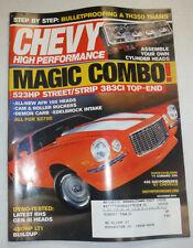 Chevy High Performance Magazine Magic Combo Vortech Blown December 2006 020615R