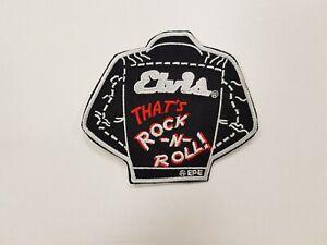 Elvis Presley That's Rock -N- Roll Black Jacket Patch Rock 'N' Roll Patch