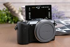 Sony Alpha a5000 20.1MP Digital Camera - Black Body with Strap, Batt and Charger