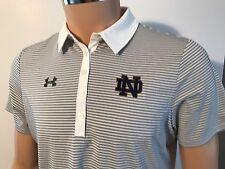 NEW Notre Dame Fighting Irish Under Armour Women's Medium M Golf Polo MSRP $60