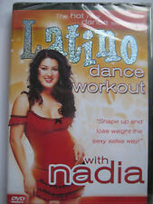 Latino Dance Workout With Nadia (DVD, 2004) NEW SEALED PAL Region 2
