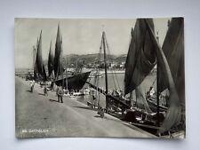 CATTOLICA pescatori barca vela Rimini vecchia cartolina 66