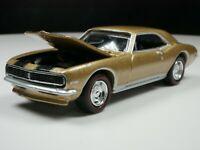 1967 Chevy Camaro Z28 1/64 Scale Diecast Diorama Car Gold American Muscle Car
