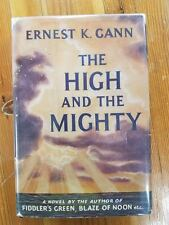 THE HIGH AND THE MIGHTY Ernest Gann 1st Edition, Aviaition and adventure