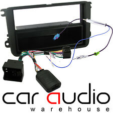 FP-17-03 Skoda Fabia 2013 On Stereo Fascia & Steering Wheel Interface Twin Fakra