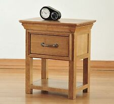 Marseille solid oak french style furniture small side end lamp table