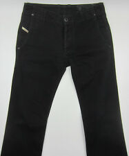 Diesel Revick W29 L30 Herren Man Designer Denim Italy Straight Fit Jeans black