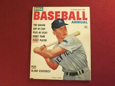 "1953 1st ISSUE "" Mickey Mantle ""  Cover Dell Baseball Annual Complete & Original"