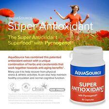 Super Antioxidant Antiox & Pycnogenol® 60 Veg Caps