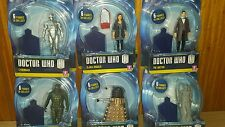 "Dr Doctor Who Series 7 Figures Clara Cyberman Dalek Angel Ice Warrior 3.75"" Rare"