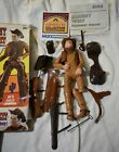 Marx Johnny West Vintage Movable Cowboy with Cactus Box & accessories 1950's