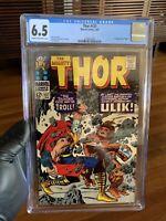 Marvel Comics Thor # 137 GRADED CGC 6.5 First appearance of Ulik Jack Kirby MCU