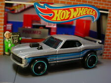 '70 FORD MUSTANG MACH 1☆Gray;Blue☆Multi Pack Exclusive?☆2019 Hot Wheels LOOSE