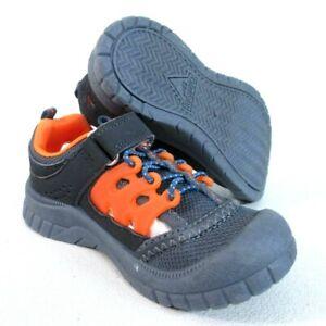 OshKosh B'Gosh TODDLER Koda Boy's Bumptoe Athletic Sandal Sport GY & OR  []