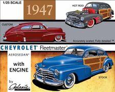 Galaxie Ltd 1:25 1947 Chevy Country Club Aerosedan Plastic Model Kit 13012