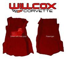 76-77 CORVETTE CARPET FRONT SET COMPLETE NEW ACC BRAND! 4sp 80/20