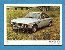 AUTO E MOTO - Figurina-Sticker n. 71 - BMW 30 CSI -New