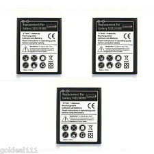 3x New 2300 mAh 3.7V Battery For Samsung Galaxy S3 III i9300