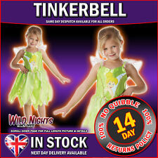 FANCY DRESS COSTUME ~  DISNEY TINKERBELL CLASSIC LARGE AGE 7-8
