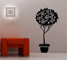 Enorme Rosa Bush Salón Dormitorio Pegatina Adhesiva Vinílica Pared