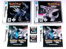 Spiele: POKEMON DIAMANT + POKEMON PERL Nintendo DS + Lite + Dsi + XL + 3DS 2DS