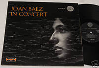 JOAN BAEZ:LP-CONCERT-ORIGINALE ITALIA 1965 NM CONDITION
