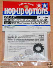 Tamiya 53817 NDF-01 2-Speed Transmission Driven Gear 14T (2nd Gear), Nitro Force