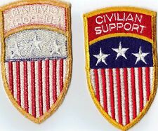 ORIG US-German made Labor Service Civil Support Patch Insignia Local Made!