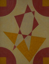 Emil Bisttram Taos / Santa Fe Modern - 1944 Transcendental Geometric Abstraction