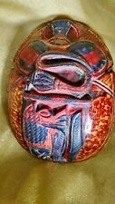 Scarab Beetle, hand carved , Egyptian