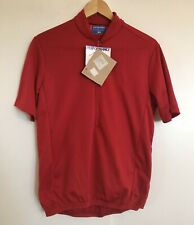 PERFORMANCE Cycling Jersey NWT Medium Red Short Sleeve