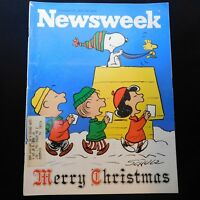 Newsweek Peanuts Christmas Charlie Brown Charles Schulz Dec 27 1971