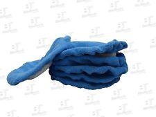 """Microfiber Cloth Bonnet 8""""- BLUE (6 Units/ 1 Pack)"""