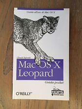 MAC OSX LEOPAR - GUIDA POCKET - DI CHUK TOPOREK - O'REILLY EDITORE