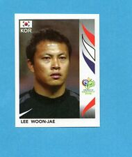 PANINI-GERMANY 2006-Figurina n.494- WOON-JAE - KOREA -NEW BLACK