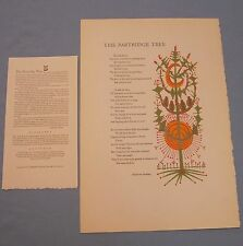 11 Broadside Poems published by Poems in Folio: San Francisco, 1957, 1st edition