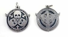 30 Seconds to Mars Thirty Rare doble sided Pendant Necklace Pewter Silver 015