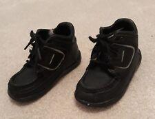 f69d60fdfacc6 Rockport boys boots shoes black size UK 6 infants lace up childrens leather  kids