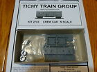 Tichy Train Group 2703 Work Train Equipment - Converted Double Sheathed Boxcar