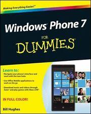 Windows Phone 7 For Dummies Hughes, Bill Paperback