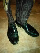 Nocona Vintage Western Cowboy Boots 11 EE