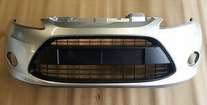 Ford Fiesta MK7 MK8 Zetec - Titanium Front Bumper Moondust Silver 2008>2012