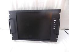 "19"" Rack Mount LCD Computer Monitor, Viewsonic 17"" Monitor"