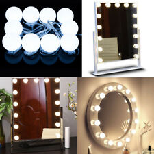 2018 Vanity LED Mirror Light Kit for Makeup Hollywood Mirror with Light Bulbs US