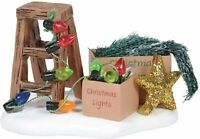 Ready to Decorate Dept 56 Village Accessories 6005507 snow Christmas holiday Z