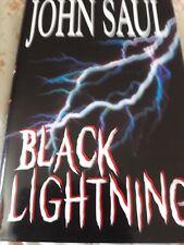 John Saul - Black Lightning - BCA Hardback edition - EX