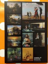BANKSY - 'Crude Oils' - set of ten exhibition postcards - sealed and rare