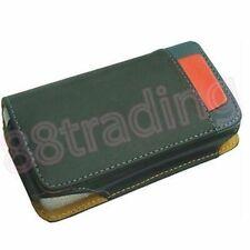 BLACK Horizontal Mobile Phone Leather Case Pouch with Waist Belt Clip LB3 Design
